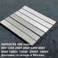6pcs 80-3000 # Diamond WhetStone Bar Match Ruixin Pro Rx008 Edge Pro Couteau Couteau haute qualité 210615