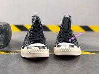 2021 Alta qualidade Chuck 70 White Black Sneakers 1970 Men '; S Tales casuais de lona 2,00 zebra Top Top Treinador
