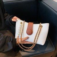 Evening Bags Fashion Brand Pearl Handbag Women's Chain Leather Shoulder Bag Casual Ladies Messenger Small Designer Cross Body