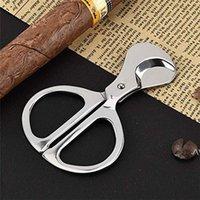 Acessórios fumante faca faca 304 aço inoxidável charutos cortador cohiba faca tesoura grande ferramentas de fumar bom presente de natal dwd7625