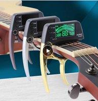 1 ADET Capo Akustik Tuner Hızlı Değişim Elektro Gitar Bas Kromatik Için Anahtar Alaşım Malzemesi