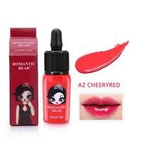 Lip Gloss Moisturizing Lipstick Blush Maquiagem Tint Dyeing Waterproof Makeup Sense Beauty Cosmetics Liquid