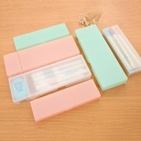 Простая практичная милая ручка коробка прозрачный PP пластиковые мешки монеты макияж высококачественный кошелек