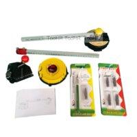 Professional Hand Tool Sets KT Plate Cutting Circle Kit Compasses Knife Adjustable Radius 60cm
