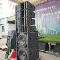 Tasso Audio Vidéo Extérieur Haut-parleurs Dual 10 pouces Crossover 3 voies Audio Live Live Show Line Système de son PA