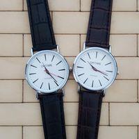 Simple Design Business et décontracté Couples Quartz Watch, Life Waterproof Watch Quality Marchandises Bracelet Montres Montres Montres Montres Montres