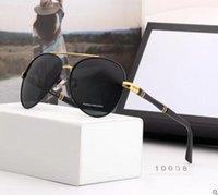 2021 Gafas de sol de metal redondo Gafas de diseñador Gold Flash Glass Lens Hombre, lleno de personalidad, Lujo de baja clave. ¡Te lo mereces! AA88866