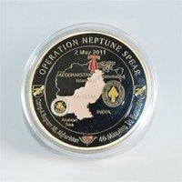 Bedienung Neptun-Speer 160. Stienungssiegel-Team 6 Navy Gedenk-Herausforderung Münze