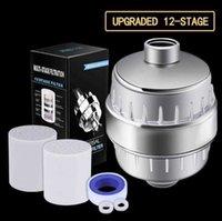 Filtros de cartuchos 10-15 Etapa 2 Kit reemplazable Filtro de agua Elimina el cloro reduce el cabezal de ducha filtrado de cloramina de flainuro CIDC