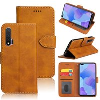 Classic Wallet PU Leather Cases Mobile Phone Bags Card Slot Photo Frame Shockproof Flip Cover For Huawei Nova 6 SE 5i Pro 5z 5t 5 4 4e nova3 3i 3e 2 Lite 2i 2s