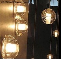 Lámparas de pared LED moderno Luz de escoce Luz Brillante Orb Casada de hielo Cristal de hielo Cristal Hemisferio Half Ball Cafe Bar Casa de noche Escalera Lámpara de vanidad