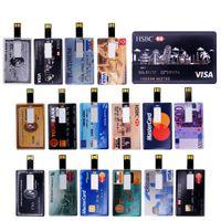 Credit American express cards style c memory stick Pen drive 4GB8GB16GB32GB u disk