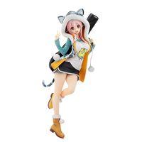 20cm 니트로 슈퍼 소닉 슈퍼 Sonico 타이거 까마귀 그림 장난감 PVC 액션 피규어 애니메이션 액션 그림 장난감 컬렉션 모델 인형 선물 X0503