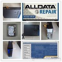 Diagnostici Strumento Ultima Alldata 10.53 Riparazioni automatiche 2 Software Installato bene in HDD 2TB Plus Computer pronto all'uso