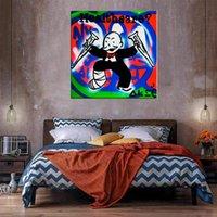 Rich Homme Healthcare Home Decor énorme peinture à l'huile sur toile Headcrafts / HD Imprimer Mur Art Pictures Personnalisation est acceptable 21050902
