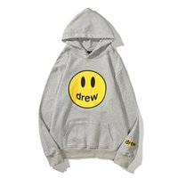 Mens Womens Hoodies Sweatshirts Smiley Face Letters Printing Plain with Hood Sweater O-Neck Long Sleeve BrightColor Youth Couples Winter Hoodie Clothing Apparel