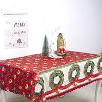 Newchristmas الديكور سماط الجداول عداء الأعلام شجرة عيد الميلاد الأيائل سانتا كلوز طباعة تحديد الموقع سماط الرئيسية ديكورات EWA6481