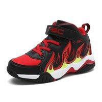 Sapatilhas vosonca meninos sapatos crianças casuais adolescentes esportes moda de alta qualidade pu superior top basketball