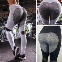 Yoga Outfits Sport Leggings Women Gym High Waist Push Up Pants Jacquard Fitness Legging Running Trousers Woman Tight