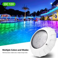 Pool & Accessories IP68 Waterproof Swimming Light LED RGB Submersible Lights Underwater Night Lamp For Fish Tank Pond Wedding Party