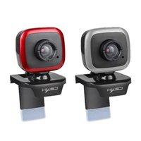 كاميرات الويب HXSJ A849 480P كاميرا الكمبيوتر USB دليل الويب التركيز كاميرا ويب مع ميكروفون امتصاص الصوت لألعاب الكمبيوتر المحمول