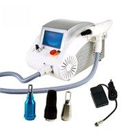 Top qualité portable haute puissance 2000MJ nd yag laser tatouage de tatouage de tatouage avec 1064nm 532nm 1320nm