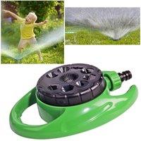 Attrezzature annaffiatori Spruzzatore da giardino a 360 ° 9 Diverse funzioni Irrigazione Spray Plavaggio Ruggine-free Plastica ABS di alta qualità