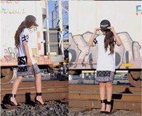 S-xxl Drucken Punk Hip Hop Tops Cessar Tee Böhmische Blumen mit Reißverschluss Paare Versand T-Shirt Paisley Free SCFAV