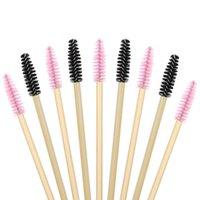 Makeup Brushes 50Pcs Disposable Eyelash Mascara For Eye Lashes Extension Eyebrow And Lash Extension,