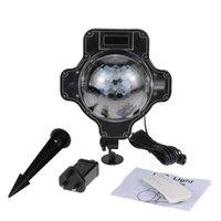 Tomshine Snowflake LED Projetor Luz IP44 Resistência à Água Rotação Velocidade Ajustável Temporizador Neve Lâmpada com Lâmpadas de Gramado de Controle Remoto