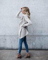Maglioni da donna maglione pullover autunno inverno donne vestiti 2021 non regolalare calda tops top cappotto tiro femme ropa mujer zt4669