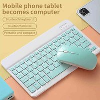 IPad tablet Bluetooth keyboard Android mobile phone portable wireless Bluetooth Thai keyboard mouse set