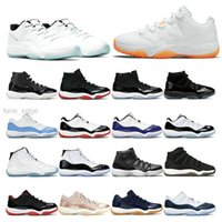 Top Quality Jumpman 11s Shoes de baloncesto 11 Bajo Jubileo 25 aniversario alto 45 Concord 23 Legend Blue Citrus University Red Bred UP Deportes Deportes Deportes Entrenadores