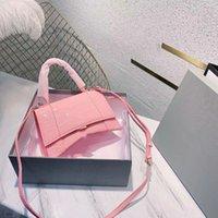 Donnes Designer Designer 2021 Primavera Summer Pink Hourglass Bag Crossbody e borse a tracolla personalizzata elegante