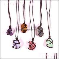 Arts And Arts, Crafts Gifts Home & Gardenlove Gift Natural Crystal Quartz Reiki Healing Chakra Gemstone Hand Woven Net Bag Rough Stone Large