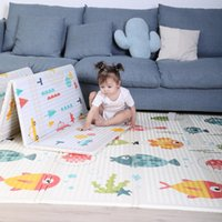 Baby Cribs Foldable Play Mat Xpe Kids Cling Carpet Puzzle Educational Children Activity Rug Folding Blanket Floor Games Toys