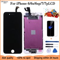 Quality 100% Good Working Replacement For iPhone 6 6S Plus 7G LCD Digitizer Touch Screen Completed Assembly With Parts+Gifts