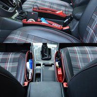 Car Organizer 50LC Seat Gaps Filler Quilted For Universal Wallet Cards Keys Phone Fit In Most Cars
