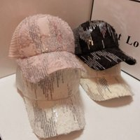 Hat girl spring and summer net red breathable Sequin version small fragrance mask sunscreen baseball