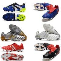 Erkekler Predator Mutlak 20 Hızlandırıcı Ebedi Sınıf 20+ Futbol Ayakkabıları Mutator Mania Tormentor Elektrik Hassas 20 + X FG Beckham Zidane Cleats Futbol Çizmeler
