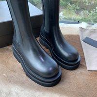 2021 Trendy Bayan Platformu Üstü Botlar Rahattır ve Ayakları Öğütmez Kalın Kesilmiş Kesilmiş Kısa Çizmeler Sonbahar ve Kış Ayakkabı