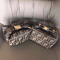 Дизайнерская сумочка средняя древняя французская палка ланч-коробка досуга один плечо наклон крест прогулка собака сумка сетка красный рыжий