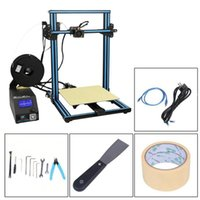 Printers (Ship From DE) 2 Colors DIY 3D Printer Kit 300*300*400mm Printing Size With Dual Z-Rod Lead Motor Filament Detector