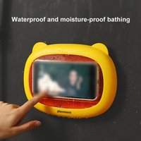 Cozinha Armazenamento Organização Muralha Casa Impermeável Caixa de Telefone Móvel Caixa de Telefone Auto-adesivo Touch Tela de Toque Casa de Banho Shell Selamento
