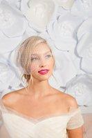 Bridal Veils Veil Fascinator Headband Vintage Tea Party For Women Wedding
