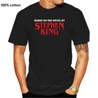 الرجال القمصان على أساس الرواية بواسطة ستيفن الملك الجرافيك تي شيرت الرجال النساء جميع الأحجام تنفس قمم قميص تي شيرت