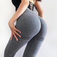 Facecozy اليوغا السراويل النساء طماق للياقة البدنية النايلون عالية الخصر طويل الورك رفع الجوارب تجريب رياضة الملابس الزي