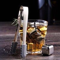 304 Cubo de hielo de acero inoxidable Piedras reutilizables Reutilizables para Whisky Wine Mantenga su bebida Metal Ice Whisky Whisky Rojo Vino Cooling Barware T2I51764