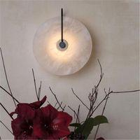 Wall Lamps Nordic Led Crystal Penteadeira Luminaire Light Lampada Camera Home Deco Dinging Room Lamp