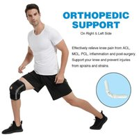 Elbow & Knee Pads Gym Fitness Adjustable With Internal Flexible Hinge Orthopedic Stabilizer Sports Protect The Adult